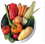 Obst und Gemüse als Nahrungsergänzung, der derzeit der Konsum von rohem Obst und Gemüse eine Gefahr sein kann